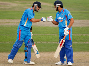 Kohli and Rohit: one has won the battle the other has been losing