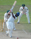 Lahiru Thirimanne hits down the ground, Sri Lanka Board XI v Australians, Colombo, 3rd day, August 27, 2011