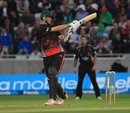 Will Jefferson pulls during his fluent 35, Leicestershire v Somerset, Final, Friends Life t20, Edgbaston, August 27 2011