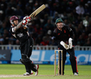 Peter Trego kept Somerset's hopes alive during his 35