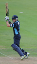 Ed Joyce cuts during his fifty at Lord's, Middlesex v Sussex, Clydesdale Bank 40, Lord's, August 29 2011