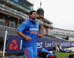 Sachin Tendulkar: flying home to recover from a foot injury
