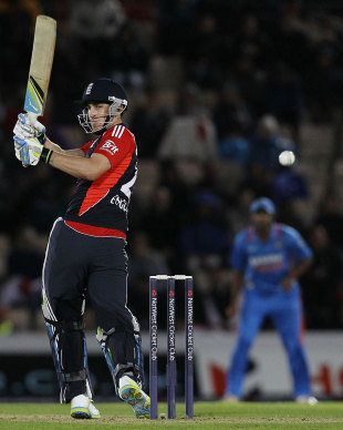 Craig Kieswetter launched England's chase in emphatic style, England v India, 2nd ODI, Rose Bowl, September 6 2011