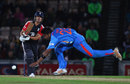 Alastair Cook pushes the ball past the bowler, England v India, 2nd ODI, Rose Bowl, September 6 2011