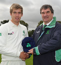 Graeme McCarter makes his first-class debut for Ireland, Ireland v Namibia, Intercontinental Cup, 1st day, Belfast, September 6, 2011
