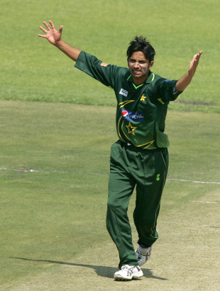 Aizaz Cheema appeals, Zimbabwe v Pakistan, 2nd ODI, Harare, September 11, 2011
