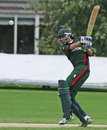 Seren Waters on his way to a top score for Kenya of 71, Netherlands v Kenya, Voorburg, September 12, 2011