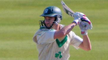 Alex Cusack cuts hard behind point