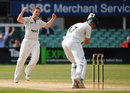 Steven Crook struck on the final morning as Middlesex closed in on the Division Two title