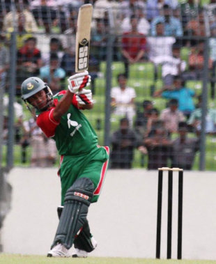 Mohammad Ashraful's 83 powered the Bangladesh national side to 311, Bangladesh v Bangladesh A, 3rd match, Bangladesh Cricket Board Cup, September 15, 2011
