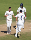 Chris Woakes dismissed Michael Carberry for 111