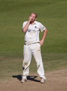 Warwickshire's Chris Metters rues a missed chance, Hampshire v Warwickshire, County Championship, Division One, September 15, 2011