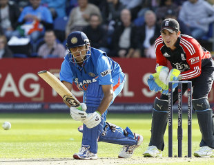 Rahul Dravid was on the receiving end of a few contentious decisions on the tour of England