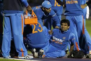 Munaf Patel in some discomfort