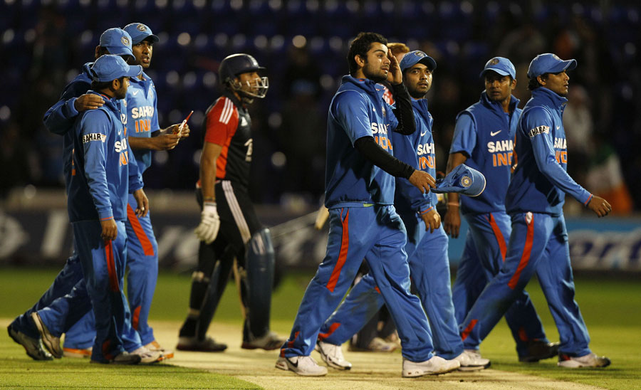 India trudge off after losing the one-day series 0-3