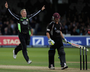 Chris Schofield quickly got rid of James Hildreth, Somerset v Surrey, CB40 final, Lord's, September 17 2011