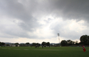 Rainclouds hover over the Kinrara Academy Oval in Kuala Lumpur, Guernsey v Jersey, World Cricket League Division Six, Kuala Lumpur, September 17 2011
