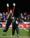 Craig Kieswetter cheers Tom Maynard's downfall
