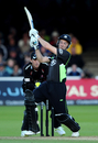 Chris Schofield played a few big shots in his cameo innings, Somerset v Surrey, CB40 final, Lord's, September 17 2011