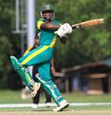 Ademola Onikoyi on the pull, Malaysia v Nigeria, World Cricket League Division Six, Kuala Lumpur, September 18 2011