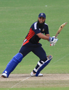 Aamir Javed top-scored for Kuwait, Jersey v Kuwait, World Cricket League Division Six, Kuala Lumpur, September 19 2011