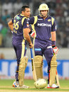 Kolkata Knight Riders openers Manvinder Bisla and Jacques Kallis put on 73 by the 10th over