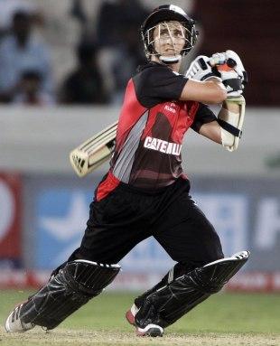 James Taylor scored an unbeaten 56, Leicestershire v Trinidad &Tobago, CLT20 qualifier, Hyderabad, September 20, 2011