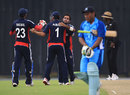 Kuwait celebrate another wicket, Fiji v Kuwait, ICC World Cricket League Division Six, Kinrara Academy Oval, September 21, 2011