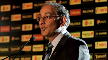 Haroon Lorgat at the launch of the 2012 World Twenty20