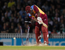 Derwin Christian had his stumps shattered by Jade Dernbach, England v West Indies, 1st Twenty20, The Oval, September 23, 2011