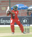 Taufeeq Umar plays the cut, Lahore Eagles v Quetta Bears, Faysal Bank T20, Karachi, 27 September, 2011
