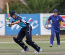 Calum MacLeod clips the ball to the legside, Namibia v Scotland, Intercontinental Cup ODI, Windhoek, September 28, 2011