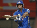 Andrew Symonds struck three boundaries, Mumbai Indians v Cape Cobras, Champions League Twenty20, Bangalore, September 30, 2011