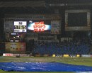Rain ended the game after Mumbai Indians' innings, Mumbai Indians v Cape Cobras, Champions League Twenty20, Bangalore, September 30, 2011