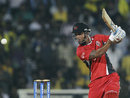 Lendl Simmons was involved in a steady 52-run opening stand, Chennai Super Kings v Trinidad & Tobago, CLT20, October 2, 2011