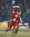 Arun Karthik and S Aravind soak in the victory, Royal Challengers Bangalore v South Australia, Champions League T20, October 5, 2011