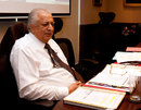 PCB chairman Ijaz Butt at the ICC executive board meeting , Dubai, October 10 2011