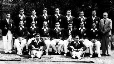 The 1946 Indian squad in England