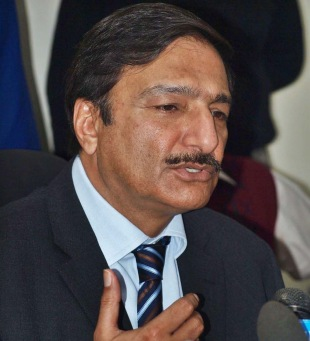 Zaka Ashraf, the new PCB chairman