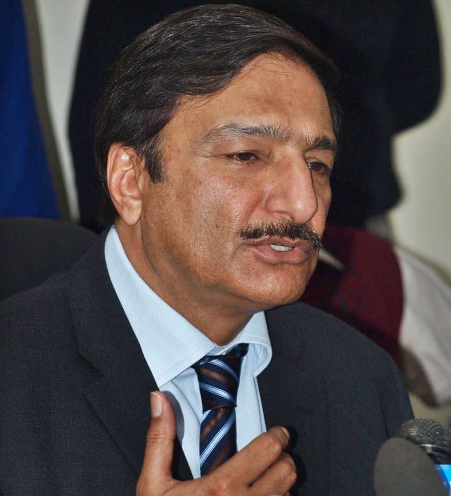 137979 - Decision on Indo-Pak ties likely in June - Zaka Ashraf