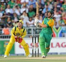 Wayne Parnell connects with one of his two sixes