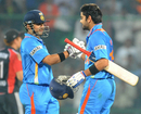 Gautam Gambhir and Virat Kohli put on 209, a new Indian record for the third wicket, India v England, 2nd ODI, Delhi, October 17 2011