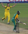 Mitchell Marsh has Hashim Amla caught behind, South Africa v Australia, 1st ODI, Centurion, October 19, 2011
