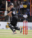 Rob Nicol glances a boundary fine, Zimbabwe v New Zealand, 1st ODI, Harare, October 20, 2011