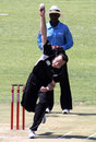Graeme Aldridge bowled impressively on debut, Zimbabwe v New Zealand, 2nd ODI, Harare, October 22, 2011