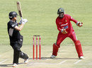 Rob Nicol edged behind to Forster Mutizwa, Zimbabwe v New Zealand, 2nd ODI, Harare, October 22, 2011