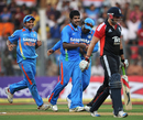 Varun Aaron ended England's innings with the wicket of Tim Bresnan