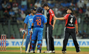 Steven Finn approached Virat Kohli and MS Dhoni to apologise, India v England, 4th ODI, Mumbai, October 23, 2011