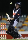 Peter Handscomb evades a delivery, Queensland v Victoria, Ryobi Cup, Brisbane, October 9, 2011