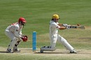 Liam Davis pulls during his 93, South Australia v Western Australia, Sheffield Shield, Adelaide, 3rd day, October 27, 2011